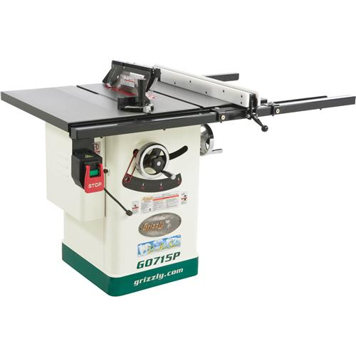 G0715p 10 Hybrid Table Saw W Riving Knife Polar Bear Ebay